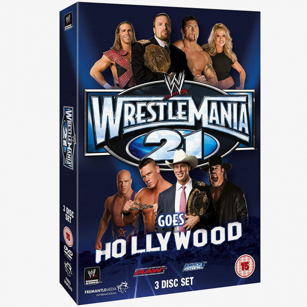 WWE Wrestlemania 21 DVD