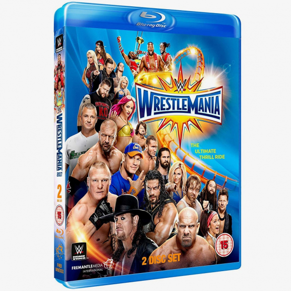WWE WrestleMania 33 Blu-ray