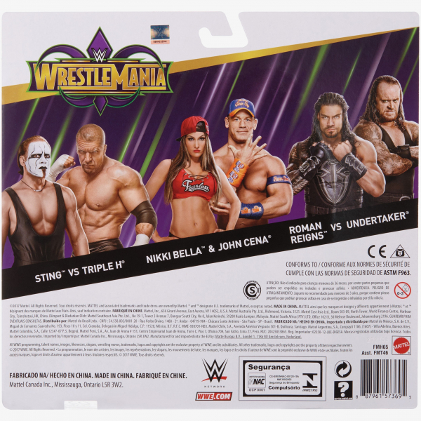 John Cena & Nikki Bella - WWE Battle Pack WrestleMania 34 Series