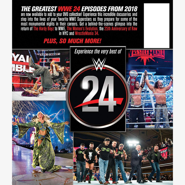 WWE 24: The Best of 2018 DVD