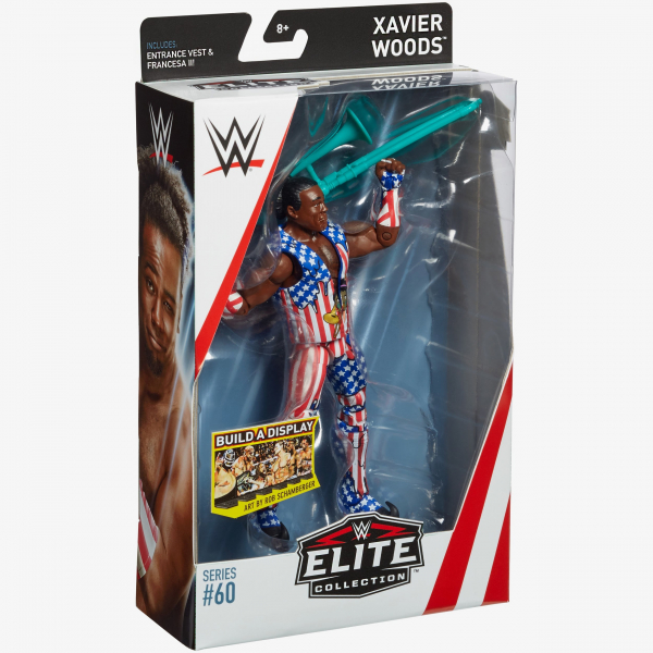 Xavier Woods WWE Elite Collection Series #60