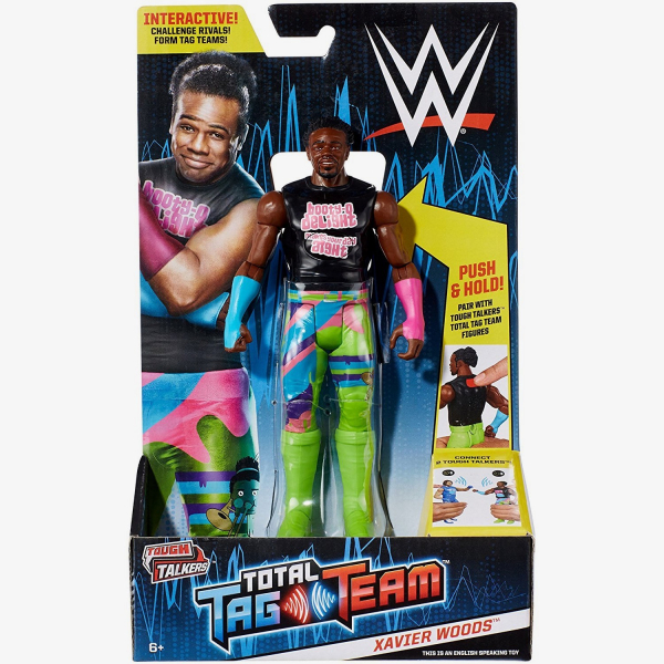Xavier Woods WWE Tough Talkers Total Tag Team