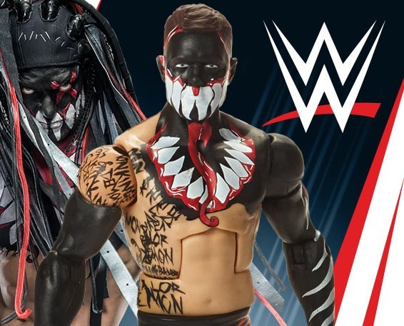 Finn Balor, Demon, WWE Elite Series 59, Action Wrestling Figure, Mattel