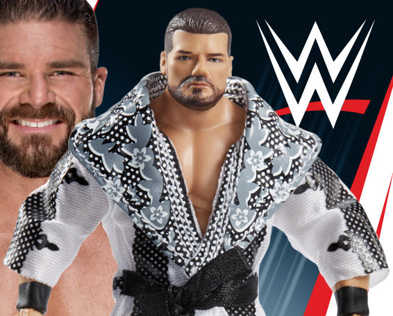 Bobby Roode, Glorious, Entrance Greats, WWE, Action Wrestling Figure, Mattel