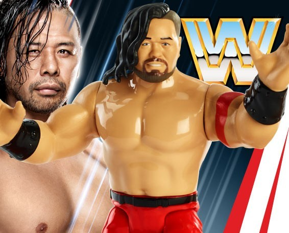 Shinsuke Nakamura, WWE Retros Series 6, Retro, Action Wrestling Figure, Mattel