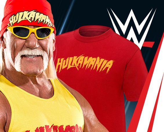 WWE Authentic T-shirts, Official