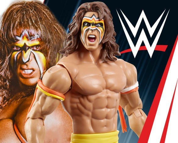 Basic, Series 98, Ultimate Warrior, Figures, Mattel, WWE