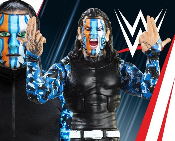 Jeff Hardy, Elite Collection Series 67, Figures, Mattel, WWE