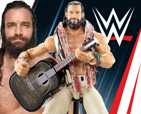 Elias, Entrance Greats, Elite, Figures, Mattel, WWE