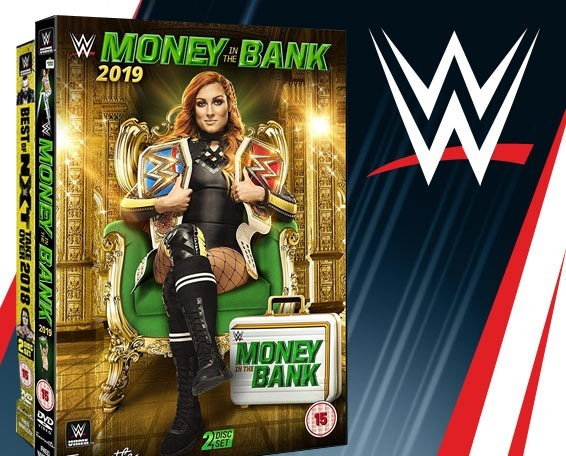 WWE Money in the Bank 2019 DVD, WWE DVDs, Blu-ray, Network