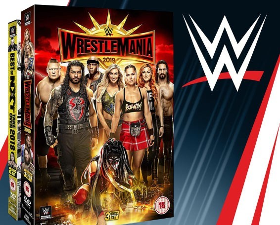 WWE WrestleMania 35 DVD, WWE DVDs, Blu-ray, Network