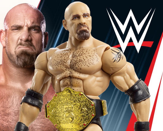 Goldberg, Entrance Greats, Elite, Figures, Mattel, WWE