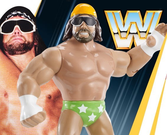 Retro, Series 9, Macho Man, Figures, Mattel, WWE