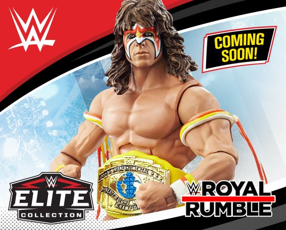 Ultimate Warrior,  Royal Rumble, 2021, Elite Collection, Figures, Mattel, WWE