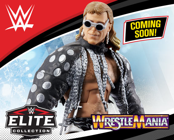 WWE WrestleMania Celebration, Series, Shawn Michaels, Figure, Mattel, WWE