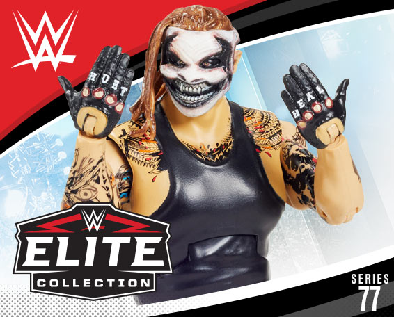 The Fiend Bray Wyatt, WWE Elite series 77, Figure, Mattel, WWE