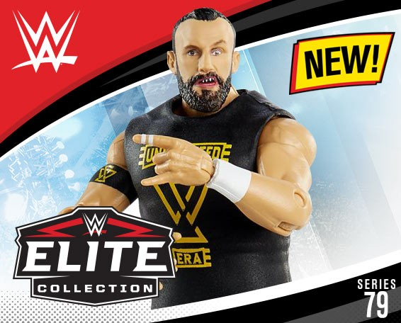 Bobby Fish, WWE Elite Collection Series 79, Figures, Mattel, WWE