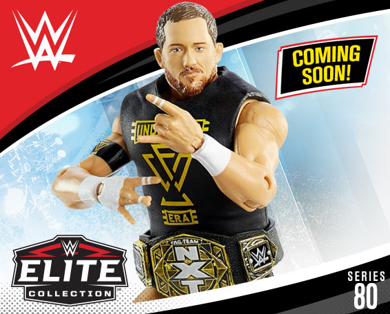 Undisputed Era, WWE Elite Collection Series 80, Figures, Mattel, WWE