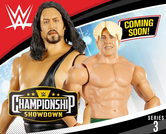 The Giant, Ric Flair, Championship Showdown, Figures, Series 3, Mattel, WWE