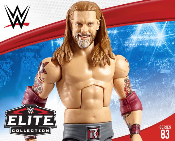 Edge, Elite Collection, Figures, Series 83, Mattel, WWE