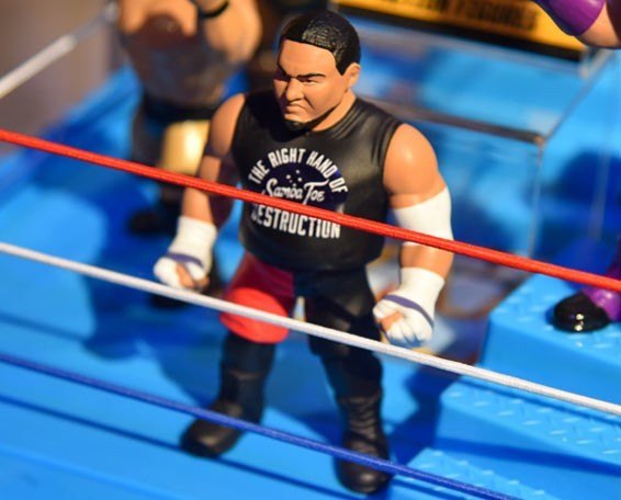 WWE Retro Series 9 Samoa Joe - Blog