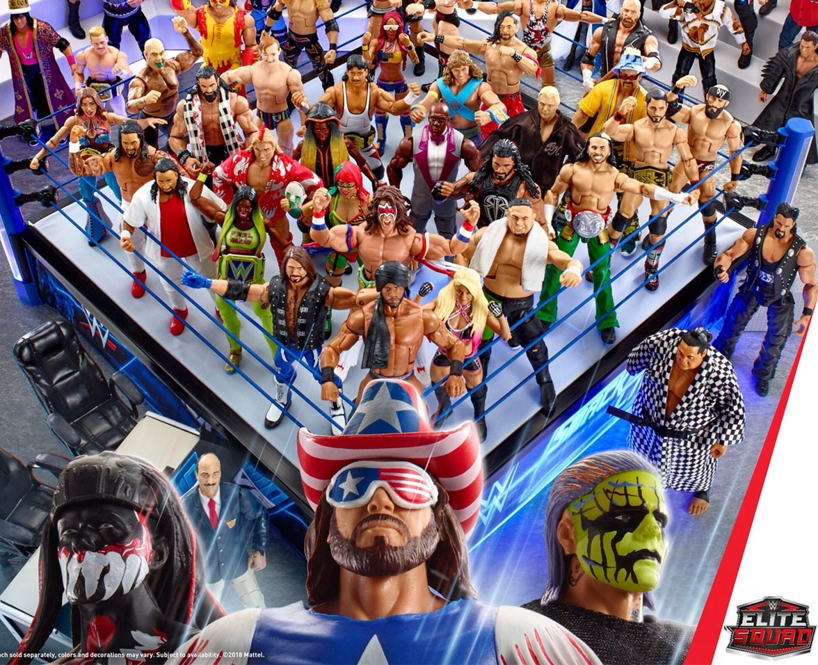 WrestleMania 35 competition, WWE Elite Figures, Mattel, Toy, AJ Styles