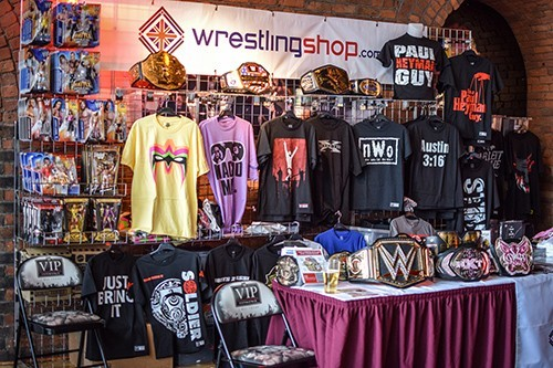 Wrestlingshop at London Wrestlecon