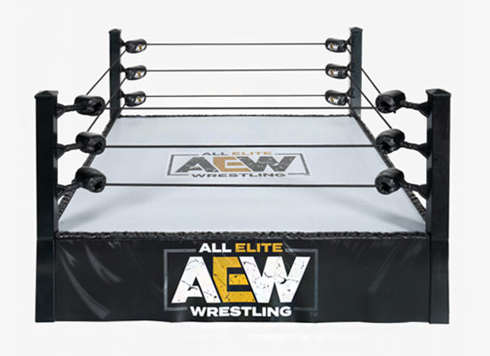AEW Ring Playset, All Elite Wrestling, Jazwares, Toy