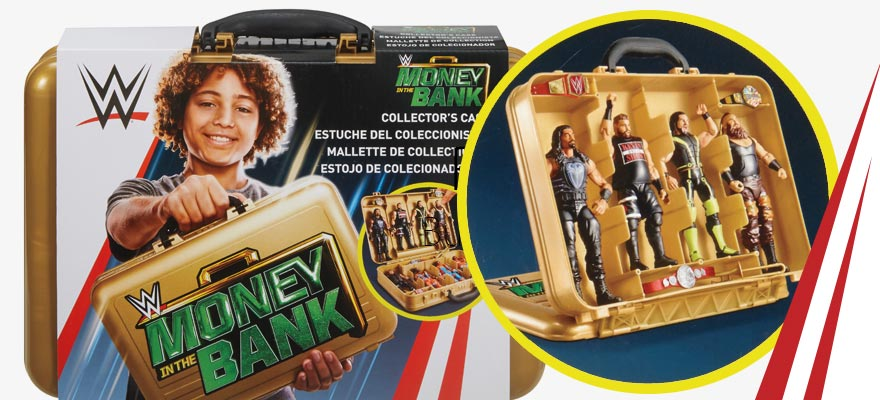WWE Money in the Bank Briefcase - Mattel