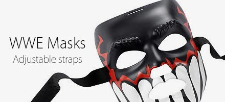 WWE Masks, Sting mask, Finn Balor Mask